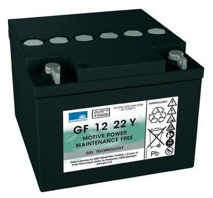 Gel Deep Cycle Battery Gf1222yf The Battery Base Melbourne