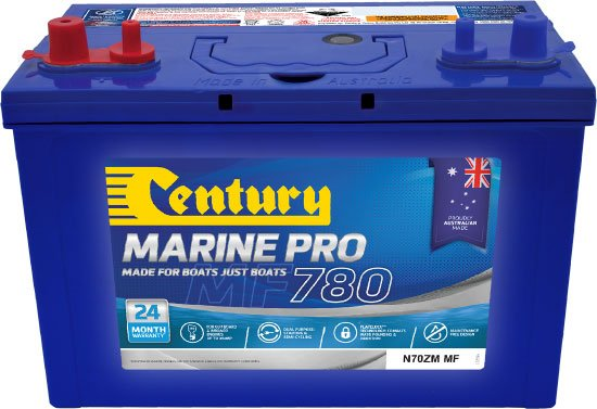 Century Marine Pro 780 N70zm Mf Marine Batteries The