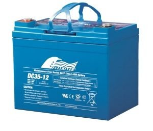 DC35-12A - Fullriver AGM Deep Cycle Battery