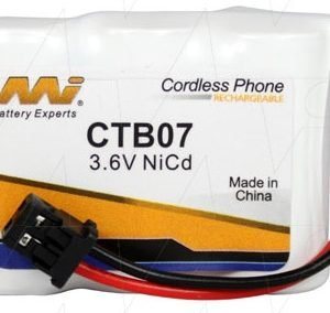CTB07 - Cordless Phone Battery + Panasonic KXA36A