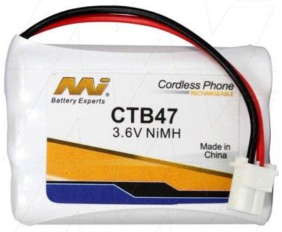 CTB47 - Cordless Phone Battery