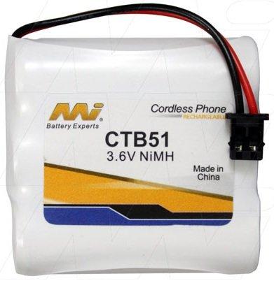 CTB51 - Cordless Phone Battery