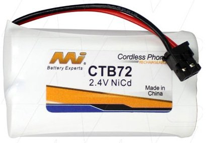 CTB72 - Cordless Phone Battery