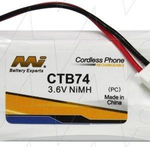 CTB74 - Cordless Phone Battery
