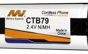 CTB79 - Cordless Phone Battery