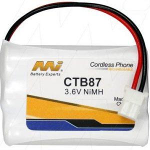 CTB87 - Cordless Phone Battery