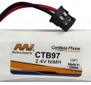 CTB97 - Cordless Phone Battery