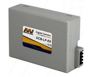 Digital Camera Battery - Canon - DCB-LP-E8