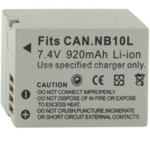 Digital Camera Battery - Canon - DCB-NB10L