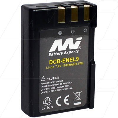 Digital Camera Battery - Nikon - DCB-ENEL9