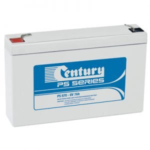 Century PS670 - Battery