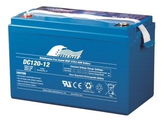 DC120-12B - Fullriver AGM Deep Cycle Battery