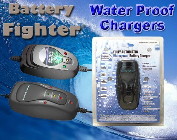 Battery Fighter BSC1210WR - Battery Charger
