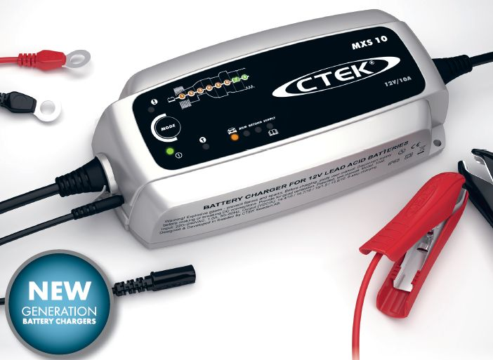 CTEK MXS 10 - Battery Charger