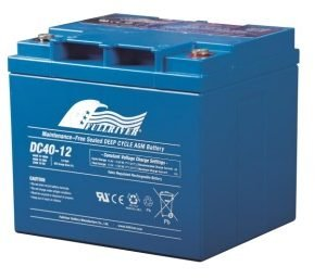 DC40-12 - Fullriver AGM Deep Cycle Battery