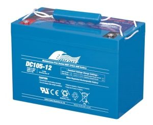 DC105-12 x2 - Fullriver AGM Deep Cycle Battery