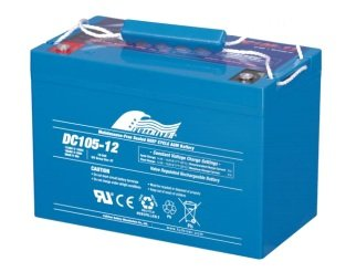 DC105-12 x2 – Fullriver AGM Deep Cycle Battery