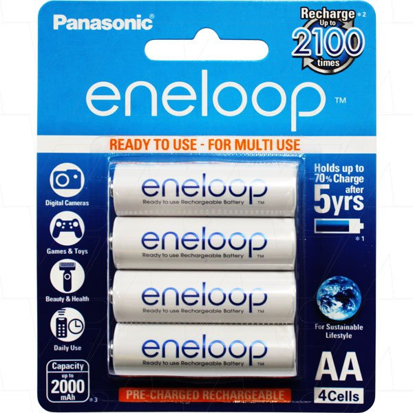 Eneloop Panasonic The Battery Base Melbourne