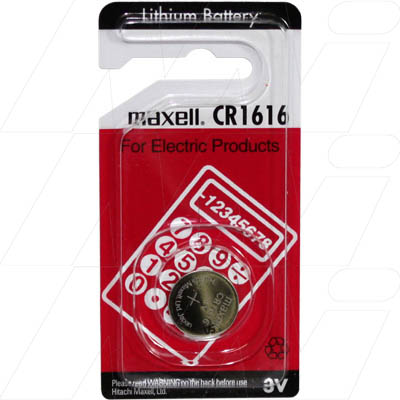 CR1616-BP1 Maxell