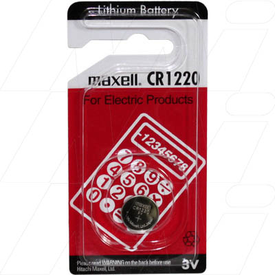 CR1220-BP1 Maxell