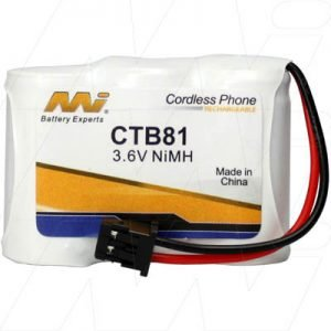 CTB81 - Cordless Phone Battery. Panasoni, Uniden +