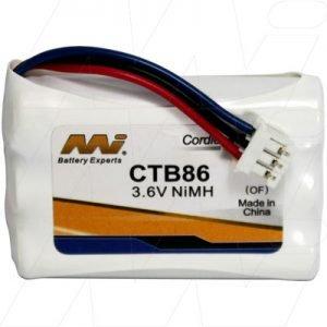 CTB86 - Cordless Phone Battery