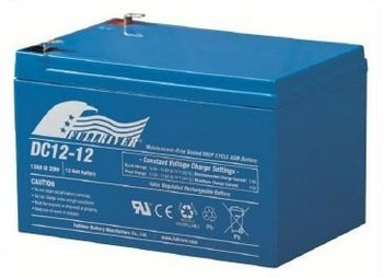 DC12-12 - Fullriver AGM Deep Cycle Battery