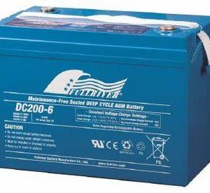 DC200-6 - Fullriver AGM Deep Cycle Battery
