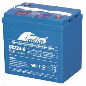 DC224-6 - Fullriver AGM Deep Cycle Battery