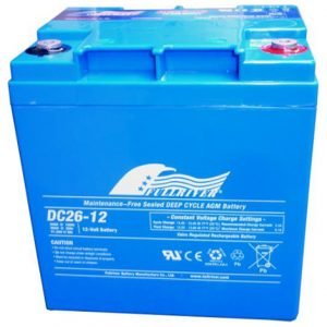 DC26-12A - Fullriver AGM Deep Cycle Battery