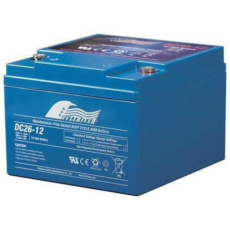 DC26-12B – Fullriver AGM Deep Cycle Battery