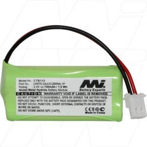 CTB112-BP1 - Cordless Phone Battery