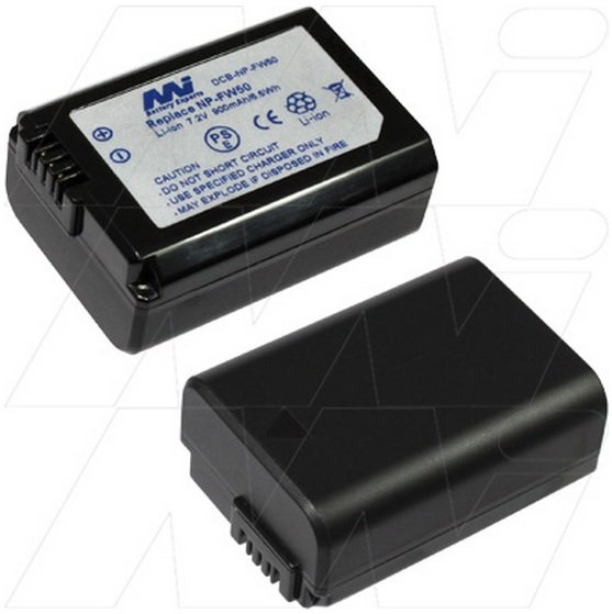 Digital Camera Battery - Sony - DCB-NP-FW50