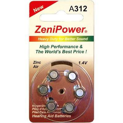 Hearing Aid Batteries | Zenipower | The Battery Base ...