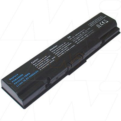 Toshiba Mi Battery Pack (6 Cell) 4600mAh - Satellite A200/A210/A300/A300D/A350/A500/L300/L300D/L500/L500D/L5