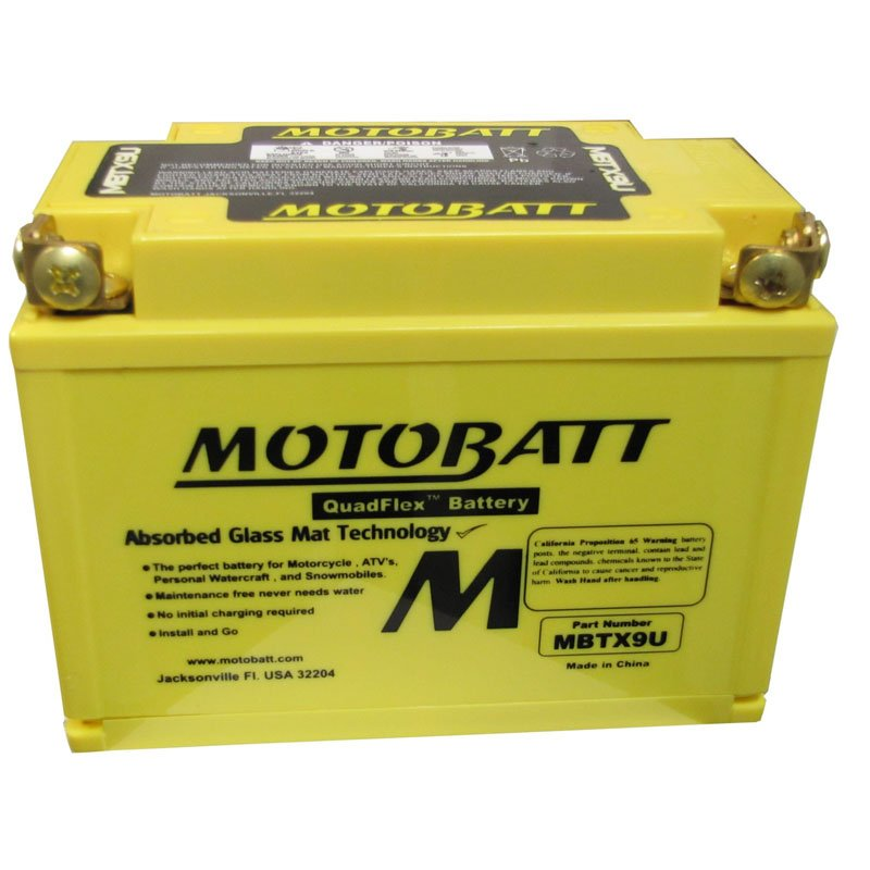 Motobatt Mbtx9u Motorbike Battery The Battery Base