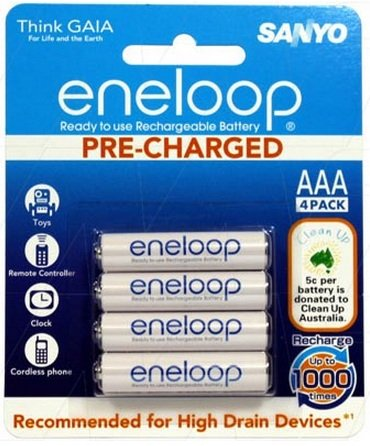 Eneloop Sanyo The Battery Base Melbourne