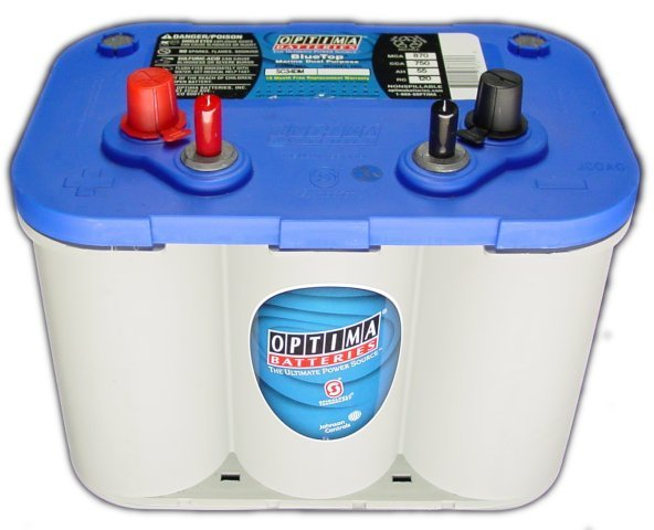 Optima Blue Top >> Optima Blue Top D34m Marine Start Deep Cycle Battery