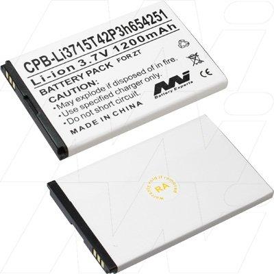ZTE Wireless Modem Battery - CPB-Li3715T42P3h654251
