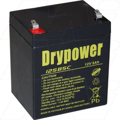 12SB5C_Drypower_SLA_Battery