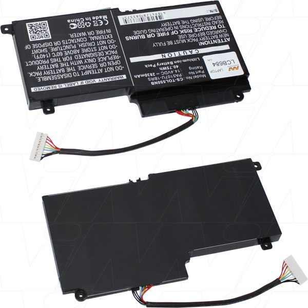 Toshiba Laptop Battery - LCB684