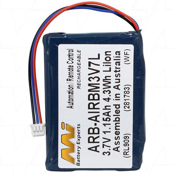 Autec Remote Control Battery Arb Airbm3v7l The Battery