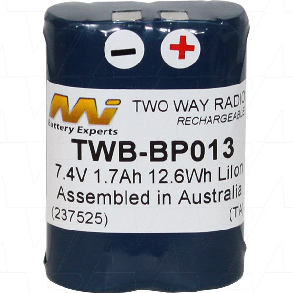 Gme Two Way Radio Battery Bp013 The Battery Base